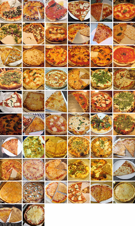 Pizza Month 2010: Complete