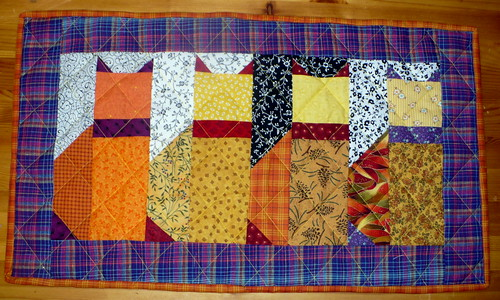 Cats mini quilt