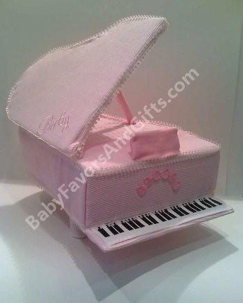 Baby Grand Piano diaper cake