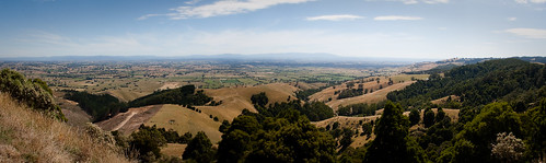 From Mount Worth (panorama)