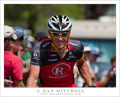 Lance Armstrong, Stage One, 2010 Amgen Tour of California (G Dan Mitchell) Tags: california road city usa sports smile bicycle race one team tour stage nevada nevadacity line professional riding lance pro northamerica armstrong amgen radioshack starting 2010