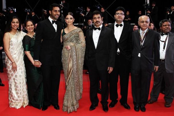 Aishwarya At Cannes 2010