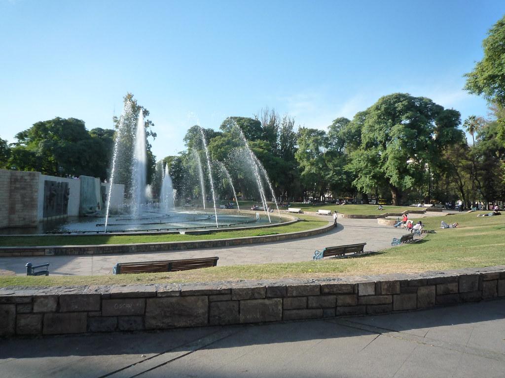 Plaza de la Independencia, Centro, Mendoza, Argentina