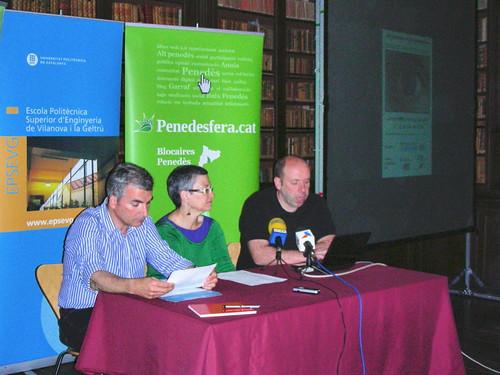 Presentació del programa de les 3es Jornades de la Penedesfera a Vilanova i la Geltrú