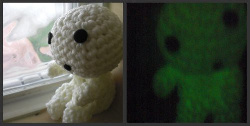 Glow in the Dark Kodama