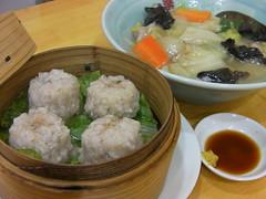 中華食堂一楽の豚肉しゅうまい