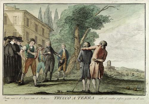 018-Trucco a Terra- Giuochi Trattenimenti e Feste Annue Che si Costumano in Toscana 1790- Giuseppe Piattoli
