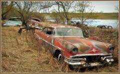 The Rat pack (Huleo-1) Tags: old cars rusty northdakota d90 explored282