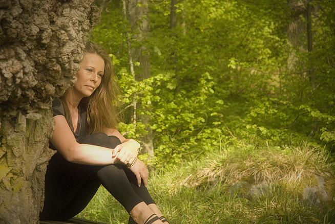 Pia vid eken