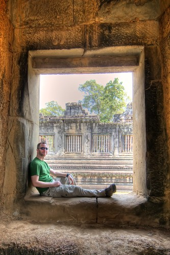 Doug at Prasat Suor Prat