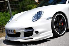 Porsche 911 Turbo S - White (Hugo Tiago) Tags: white nikon 911 s turbo porsche 50mmf14 techart