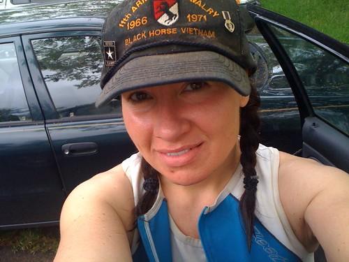 Me - post JerseyMan tri 2010