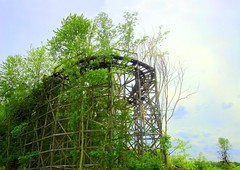 We'll Always Have Chippewa (Sean  Posey) Tags: ohio rot decay neglected bigdipper abandonedamusementpark chippewalakepark abandonedrollercoaster