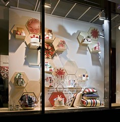 Decorative window displays using X-Board