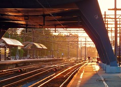 Central Station Amsterdam (Cajaflez) Tags: holland amsterdam nederland centraalstation perron5b