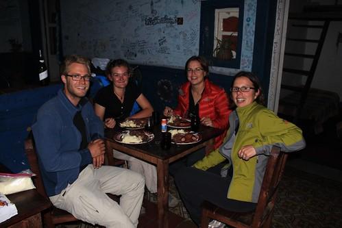 Last dinner in Salta