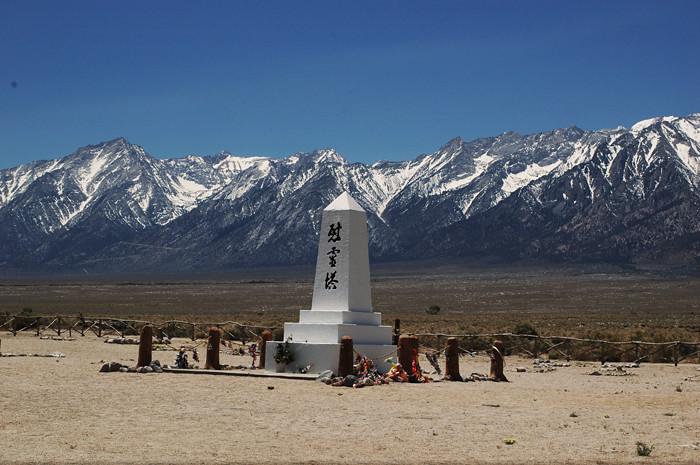 Manzanar Monument.