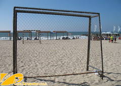 IMG_0984 (Streamer -  ) Tags: ocean old girls sea people sun man boys fun israel football women surf soccer young teen bikini surfers  baech streamer      ashkelon