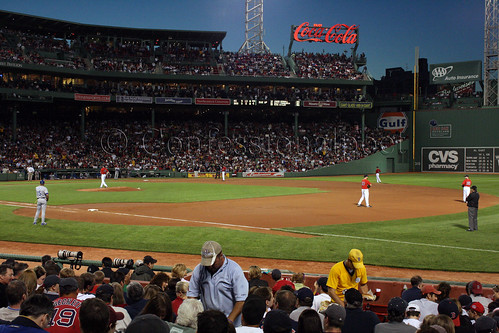 Nightfall at Fenway Park