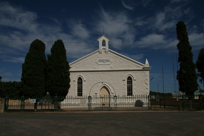Methodist church at Moonta Mines