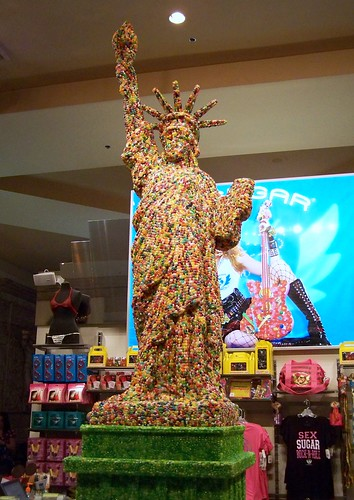 Jellybean Statue of Liberty