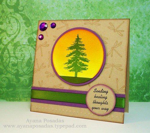 Pine Tree Card (2)