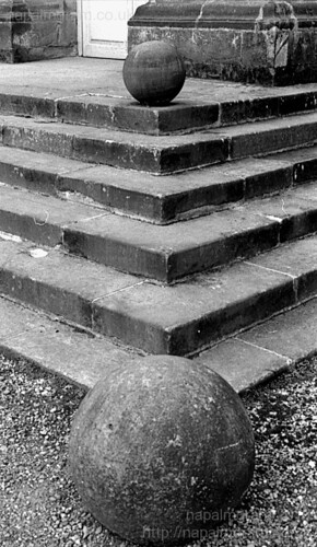 Sudbury Halls steps and balls