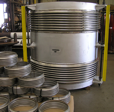 Tied Universal Expansion Joint for Pipe Carrying Sulfur Dioxide