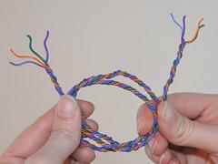 twisted wire bundle