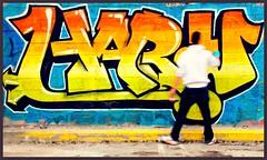Graffiti (Xavier Cloitre) Tags: street urban art colors photography graffiti photo nikon colours photographie couleurs tag graf culture colores hip hop d200 fotografia rue ville urbain xaviercloitre
