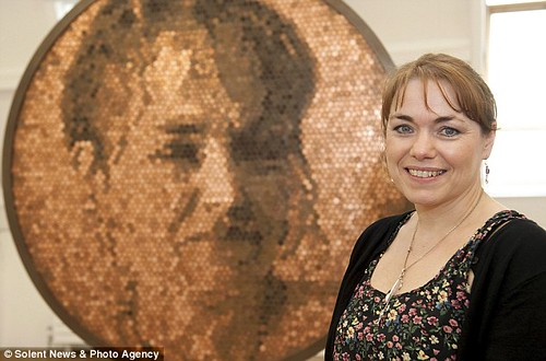Mary Nugent penny portrait