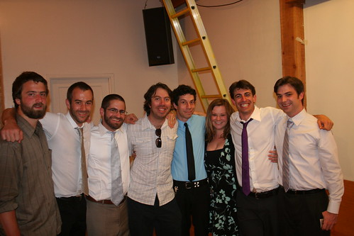 Tim, Leo, Jarrod, Jake, Spense, me, Zach, and Taylor