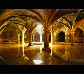 beams of light.......