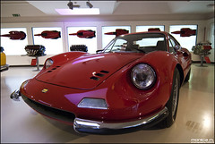 La Dino (Monica M. ) Tags: auto corse ferrari tokina modena rosso 1224 maranello rosse d80 galleriaferrari nidon bolidi fuoriserie monicamongelli