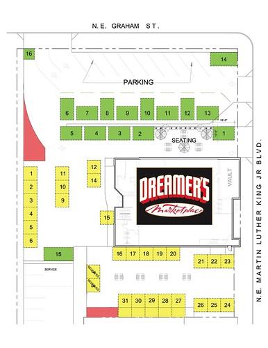 Dreamer's Market Site Plan
