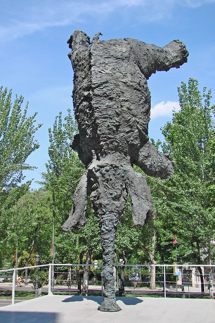 Eléphant de M. Barcelo (Caixaforum, Madrid)