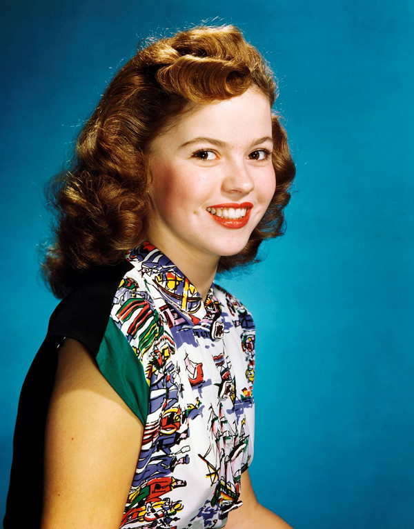 shirley temple color