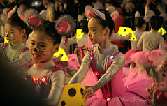 The mice and the cheese (werxj) Tags: girls light ballet cheese kids night children mouse dance costume parade cny hongkongchina