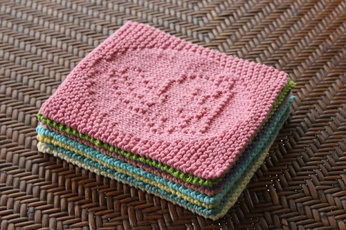 Knitted Dishcloth Patterns For Easter : Dishcloths This Blonde Knits (& Crochets!)
