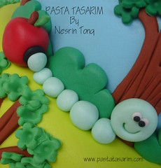 1st birthday cake - kuzey