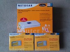 netgear rangemax wi-fi 11b 11g router adapter