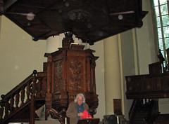 Groningen - Stadswandeling Nieuwe Uitleg (Geert Schotanus) Tags: kerk groningenstad houtsnijwerk stadswandelinggroningennieuweuitleg