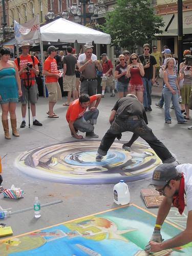 Chalk Art: Denver, CO, USA