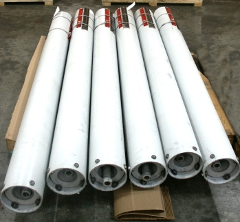 Variable Springs to Meet Travels Needed to Support Furnace Tubes of a Hydrogen Reformer