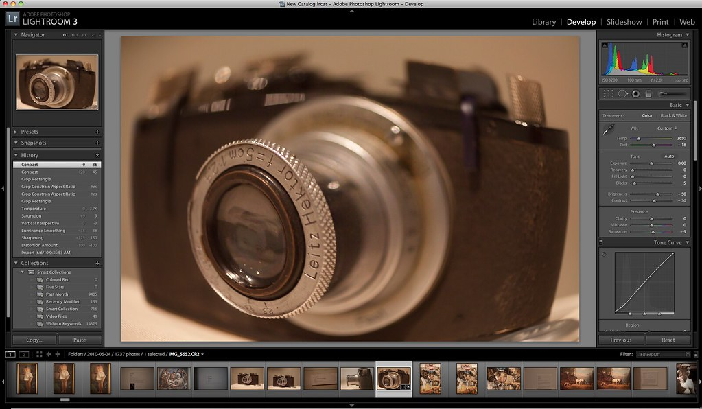 Lens Correction Features in Adobe Lightroom 3
