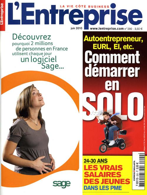 Couverture Magazine Entreprise