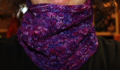 One Skein Handpaint Cowl