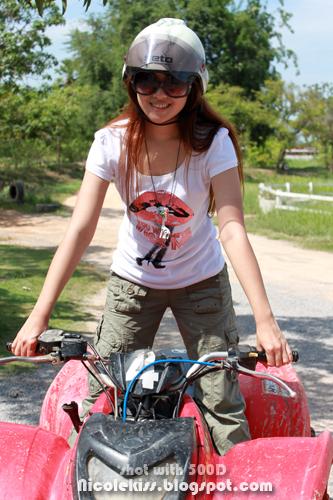 riding atv 2009