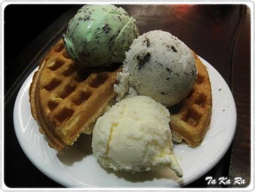 100516-Takara鬆餅冰淇淋