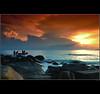 Sail Away (amlbuton) Tags: sunset sea sky cloud seascape beach nature water clouds landscape boats bay landscapes boat nikon rocks tokina malaysia d300s spiritofphotography saariysqualitypictures redmatrix imagicland nikond300s marculescueugendreamsoflightportal pinnaclephotography celebratingnaturegroup phoeniximmortal pipadminspecial